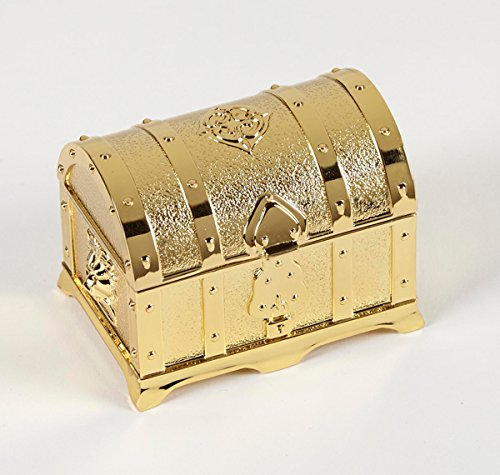 Gold Symbolize Coin - Gold Treasure Box with 13 Piece Arras Coin Set