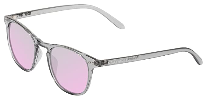 NORTHWEEK Wall Moonstone, Gafas de Sol Unisex, Multicolor (Bright Grey/Rose Gold), 45: Amazon.es: Ropa y accesorios