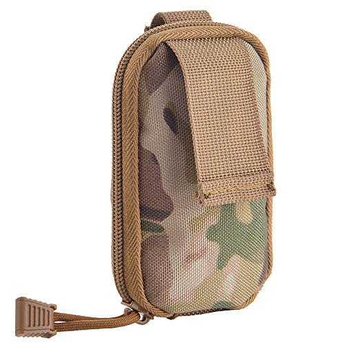 (Bright-Life Dump Pouch - Extendable Molle Ammo Bag/Tactical Waist Holster/Fanny Pack - Mini Folding Size/Large Capacity (CP Camouflage))