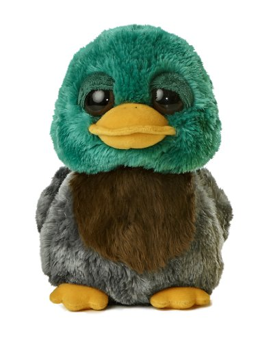 Aurora World Dreamy Eyes Quackers Duck Plush, 9
