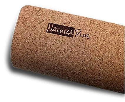 Amazon.com: Alfombrilla de yoga de corcho antideslizante de ...