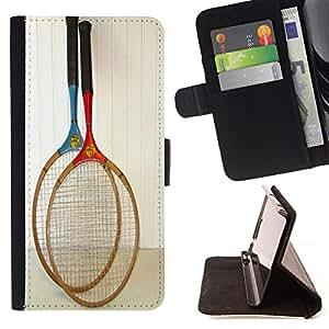 - Badminton Sport/ Personalizada del estilo del dise???¡Ào de la PU Caso de encargo del cuero del tir????n del soporte d - Cao - For Sony Xperia Z3 D6603