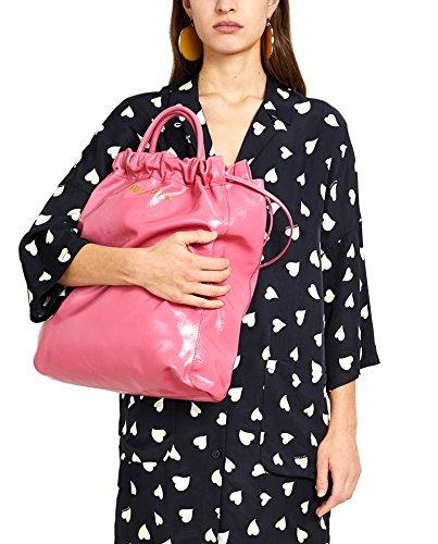 Bimba y Lola Donna Upright leather shopper bag 181BBAL1E