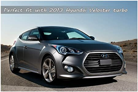 Amazon.com: SEQUENCE Rear Roof Trunk Lip Wing Spoiler UNPAINTED 1-pc Set For 2012 2013 Hyundai Veloster Turbo: Automotive