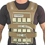 60 Lb. V-force Warrior Ii Long (Coyote Tan, Narrow 3-1/4'')