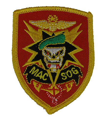 Military Assistance Command, Vietnam - Studies and Observations Group (MACV-SOG) Patch - Multi-Color - Veteran Owned Business