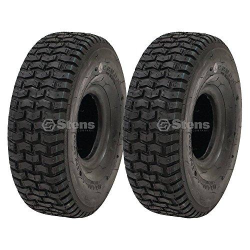 2 Kenda Tire 11x4.00-4 Turf Rider Tread 2 Ply Tubeless Lawnmower Golf Go Cart 5110271 20690061 - 4 Turf Tread 2 Ply