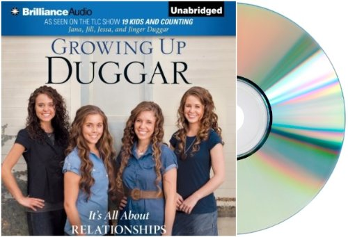 [Growing Up Duggar] Audiobook by Jana Duggar:GROWING UP DUGGAR Audio CD
