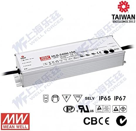 240W 42V 5.72A Meanwell HLG-240H-42 Power Supply IP67
