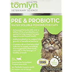 Tomlyn Pre & Probiotic For Cats, 30Pk