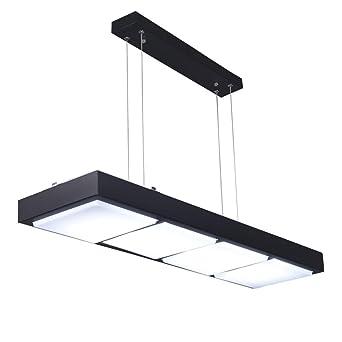 WBR Oficina araña moderna lámpara Led tira larga Simple Internet cafÉ personalidad creativa Rectangular lámparas