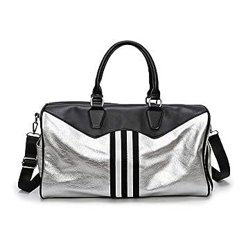 Amazon Com Yoga Fitness Gym Bag Sac De Sport Leather Bags Handbags