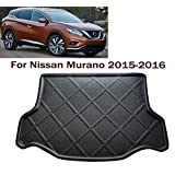 Car boot liner Cargo Mat Tray Trunk Floor Protector Mat Carpet Car trunk protectors Custom Fit Nissan Murano 2015-2016