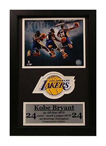Kobe Bryant Mvp Trophy (Encore Select 192-05 NBA Chicago Bulls Deluxe Frame Derrick Rose NBA's Youngest MVP Print, 12-Inch by 18-Inch)