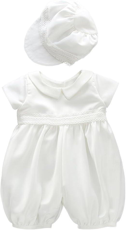 Ivory White Dress Socks Baptism Christening Wedding Suit for Boys or Girls Plain