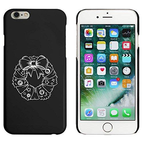 Noir 'Guirlande de Noël' étui / housse pour iPhone 6 & 6s (MC00089218)