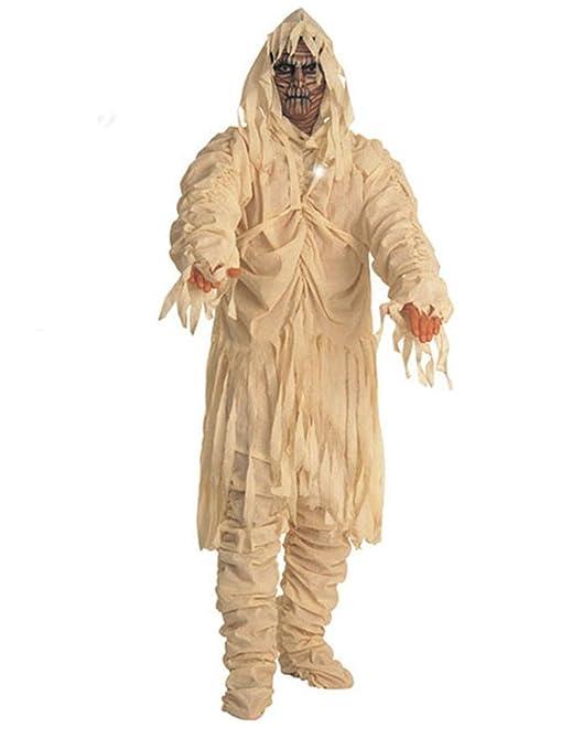 Keral Halloween Adulto Shocked Beige Momia Cosplay Disfraz Fiesta ...