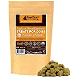 Raw Paws Prebiotics Probiotic Dogs Soft Chew, 10-oz/100-ct - USA Made Dog Yeast Infection Treatment, Relieves Dog Diarrhea, Puppy Probotics Small Dogs & Large Dogs, Dog Probiotics Chewable
