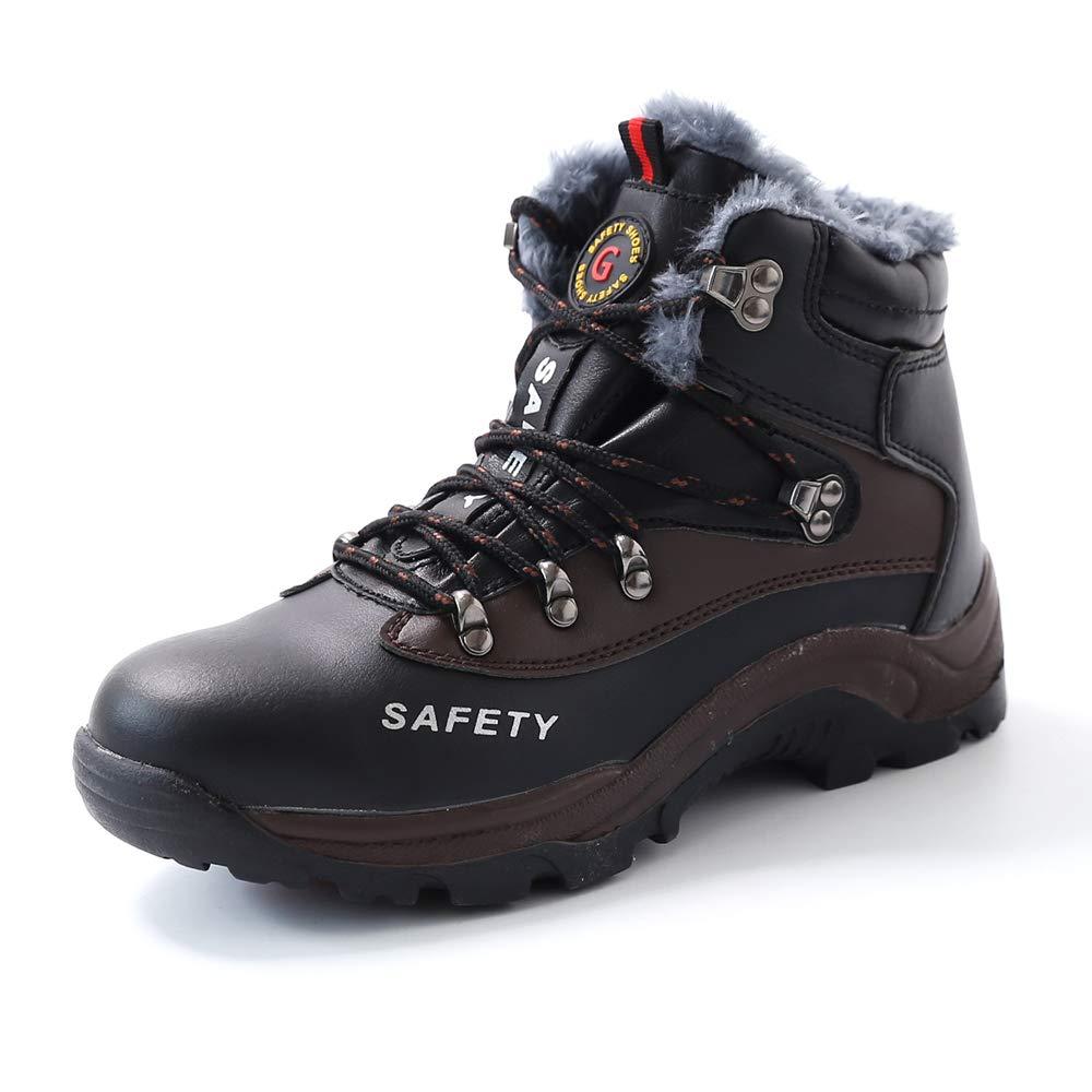 Botas de Seguridad Mujer Hombre Trabajo S3 Puntera de Acero Zapatos Impermeable Zapatillas de Senderismo Gr.35-46