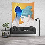"""Society6 Wall Tapestry, Size Large: 88"""" x 104"""", Fire Hands by phazed"""