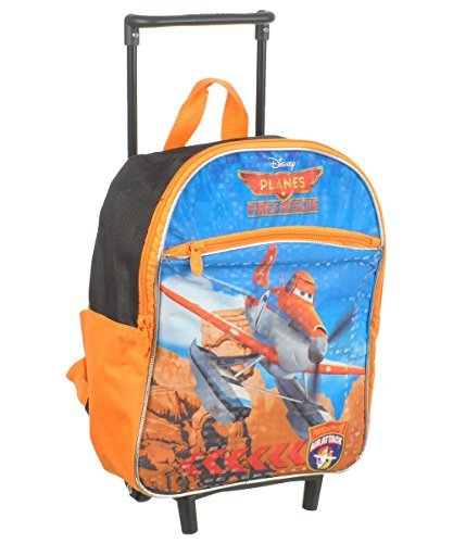 Disney Planes 12 Rolling Backpack, Orange ()
