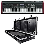 Yamaha MOXF8 88 Key Workstation Keyboard w/MOX8+Motif XF8 Sound+SKB Case