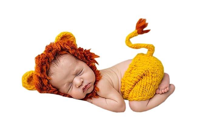 DELEY Unisex Baby Löwen Kostüm Kleinkind Kleidung Outfit Foto ...