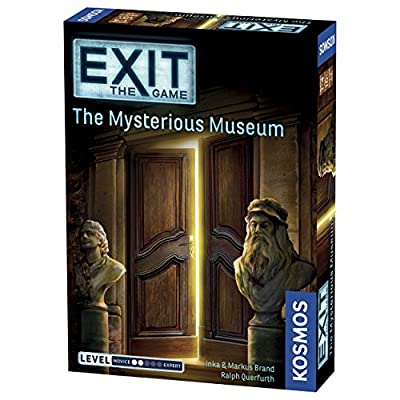 Thames & Kosmos Exit 2 Game Bundle: The Sinister Mansion and The Mysterious Museum: Toys & Games