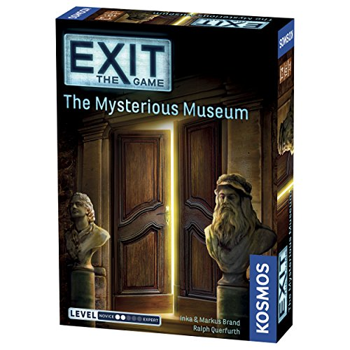 Thames & Kosmos Exit: the Mysterious Museum Multiplayer Game (No Retreat Board Game)