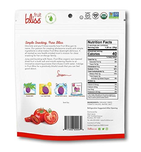 Fruit Bliss Organic Turkish Tomato Halves, 5 Oz - 3 Pack by Fruit Bliss (Image #1)'