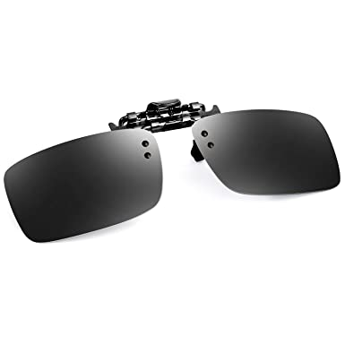 0a1c88912f Bertha Polarized Clip-on Flip up Metal Clip Sunglasses Lenses Glasses  Unbreakable Driving Fishing Outdoor