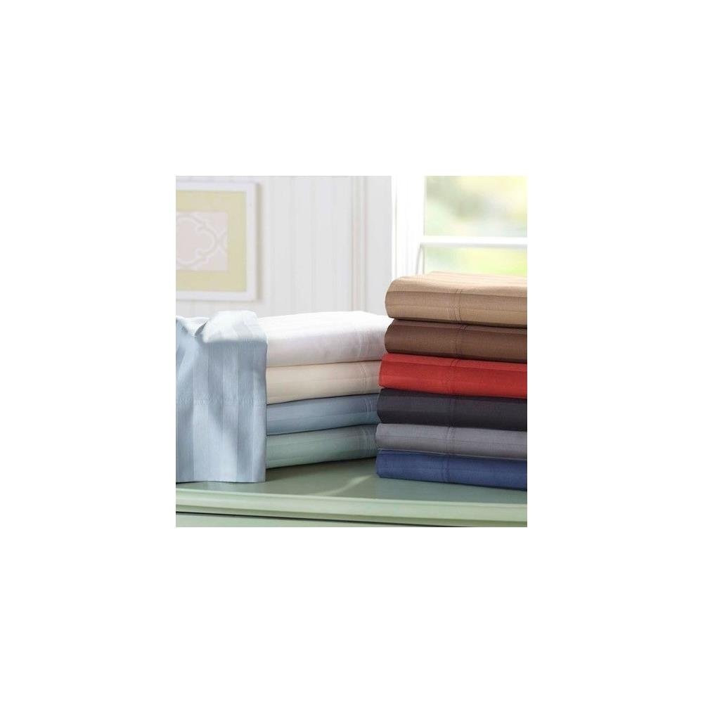 Amazon.com: Better Homes And Gardens Wrinkle Free 300 Thread Count Damask  Stripe Pillowcases: Home U0026 Kitchen