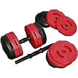 アーミーダンベル 20kg × 2個 セット 40kgセット LEDB-20 シリーズ 錆びない ダンベル ウェイト トレーニング 筋トレ 片手 20kg 傷防止