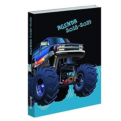 Agenda coche 2018 - 2019: Amazon.es: Oficina y papelería