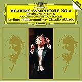 ブラームス:交響曲第2番、ハイドンの主題による変奏曲、大学祝典序曲