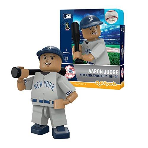 Oyo Sportstoys MLB New York Yankees Sports Fan Bobble Head Toy Figures, Navy Blue/White, One Size