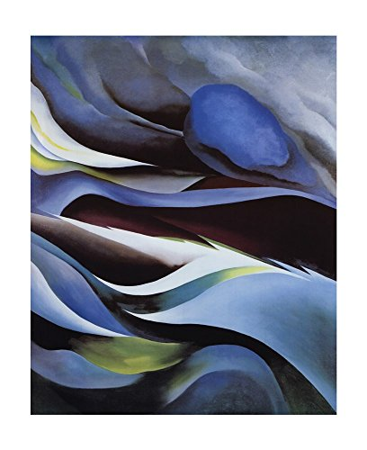 from The Lake No. 1 by Georgia O'Keeffe Art Print, 33 x 40 inches (From The Lake By Georgia O Keeffe)