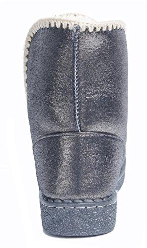Ageemi Antid Shoes Femmes Bottes Travail Hiver Alpargatas Esparto Neige Manuel wqFBxwArg