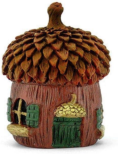 Miniatura casa de muñecas jardín de hadas – Micro bellota por encima – Accesorios: Amazon.es: Amazon.es