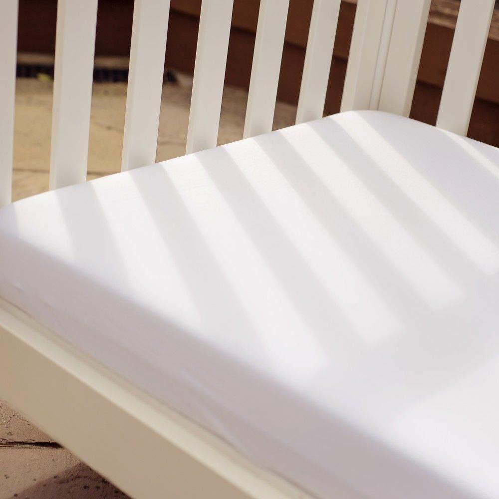 color blanco 2 unidades, 140 x 70 cm Bizzi Growin S/ábana bajera ajustable para cuna y cuna