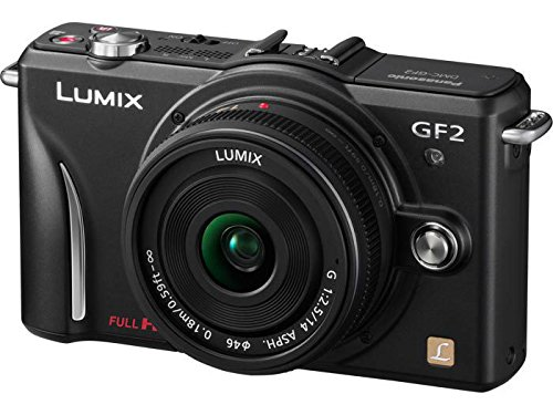 Panasonic Lumix DMC-GF2 12 MP Micro Four-Thirds Mirrorless D