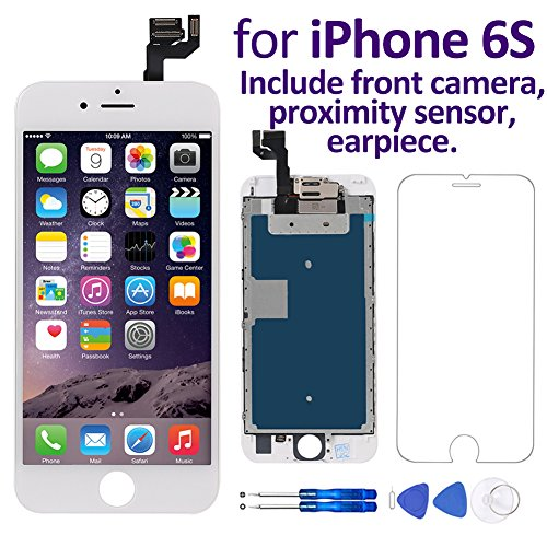 Iphone 4 Proximity Sensor Location : Corepair full digitizer assembly for iphone s inch
