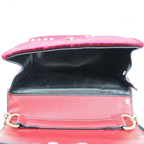 Weekend Bags Holiday Bag LeahWard Shoulder Handbags A For Cross BEE Body Messenger Women's RED pqpawR8