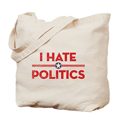 Caqui Politics Cafepress Hate Lona Bolsa Medium I wqvSv6z