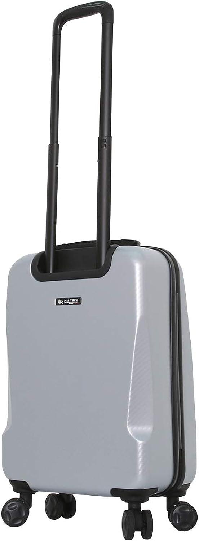 Mia Toro Italy Torino Hard Side 24 Inch Spinner Luggage Silver