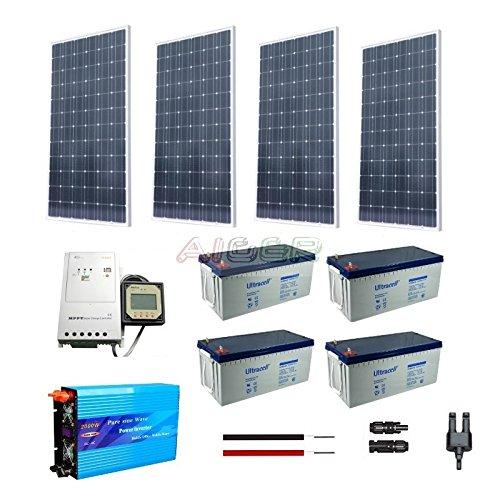 Kit fotovoltaico de 1 KW a 230 V