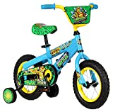 Pacific Cycle Teenage Mutant Ninja Turtles Boys 12'' Bicycle, Blue