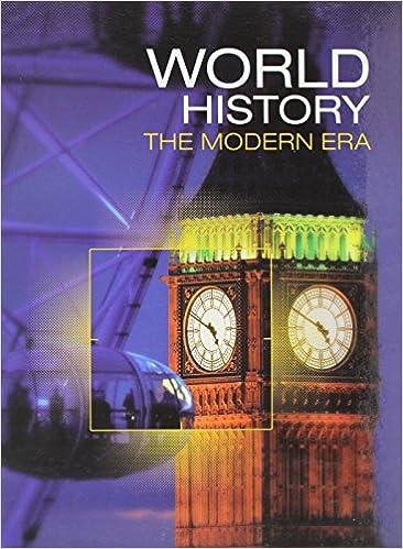 Amazon.com: WORLD HISTORY 2016 MODERN STUDENT EDITION GRADE 11 ...