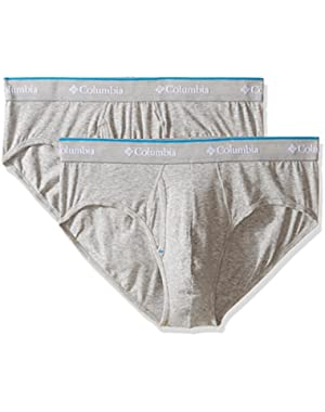 Columbia Men's Cotton Stretch 2 Pk Brief!