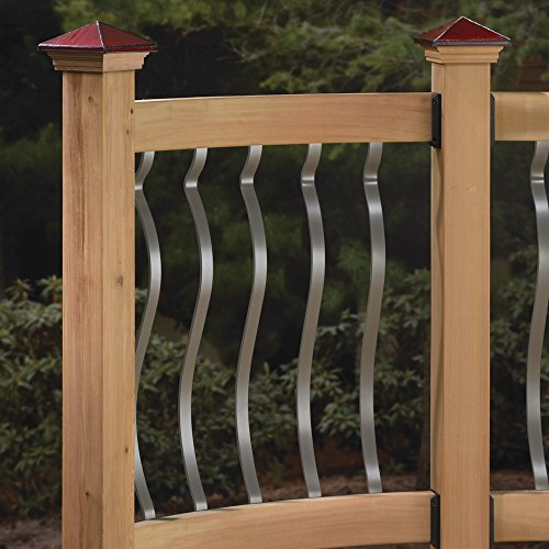 Deckorators Baroque Face Mount Balusters - 32 1/4